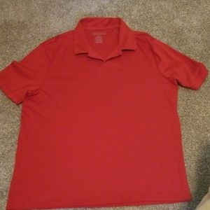 Red Perry Ellis polo